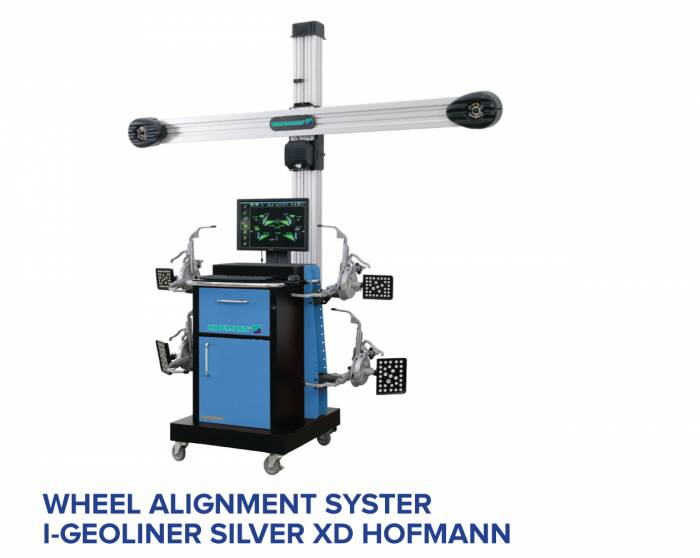 HOFMANN WHEEL ALIGNMENT SYSTEM I-GEOLINER SILVER XD HOFMANN